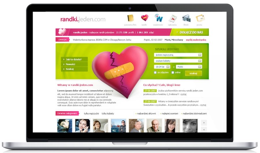 Dating site for jeden.com